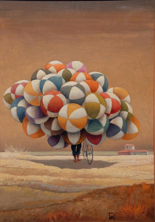 giulio-turci-al-lavoro-pallonaro-olio-su-tela-collezione-privata