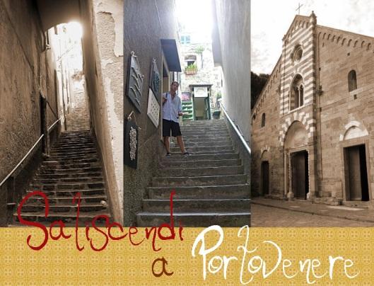 Saliscendi a Portovenere testo